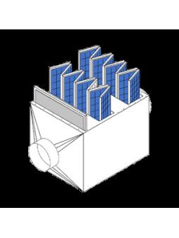 Nimh e-block (v7/8h) 9v (8.4v)-200mah